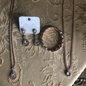 Bridal Jewelry Lot Rose Gold
